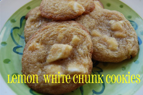 lemon white chocolate cookie - Page 044
