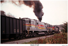 Classic ALCo Action! (Robert W. Thomson) Tags: railroad century train diesel kentucky railway trains locomotive woodbine trainengine ln alco emd sd402 sd40 louisvillenashville sixaxle familylinessystem c628 c630