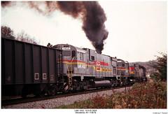 Classic ALCo Action! (Robert W. Thomson) Tags: railroad century train diesel kentucky railway trains locomotive woodbine trainengine ln alco emd sd402 sd40 louisvillenashville sixaxle familylinessystem c628 c630