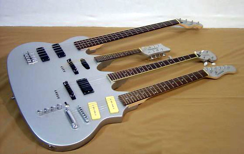 four neck guitar