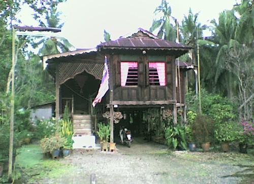 Gambar2 Rumah Kampung Rumah Kampung Simpang Tiga