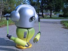 mheisler_SLOgeisha_04 (_mike slobot aka m.heisler) Tags: toy robot kidrobot custom dunny munny tokyoplastic slobot mheisler