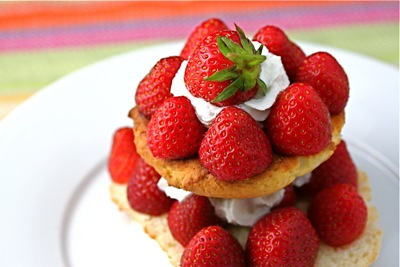 strawberry shortcake tower