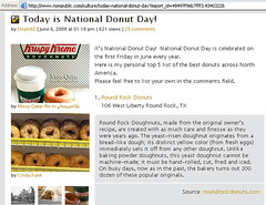 My photo published in (Missy | Qatar) Tags: 6 k june published day shot national donut missy krispy kreme qatar wwwnowpubliccom mabroooooook congraaaats thnxvoge awwjadoreallurethnxfdaitch