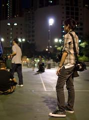 One of the few young people (immu) Tags: china travel girl hongkong victoriapark beijing demonstration tiananmen june4