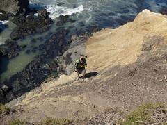 Powell Climbing a Hill
