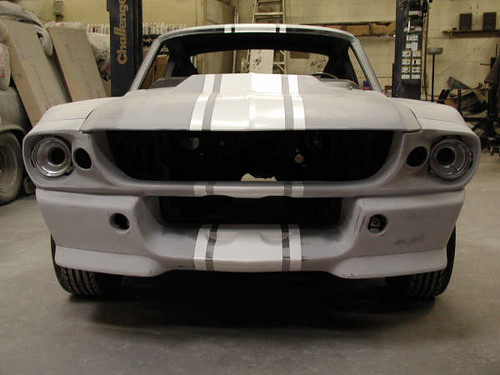 1967 Mustang Eleanor Body Kit Installation