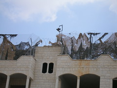 The Eyes of the Occupier: Home confiscated to become an IDF watch tower next to the wall.