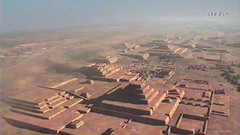 Nazca City of Cahuachi - there is no jungles asdepicted on Indiana Jones 4