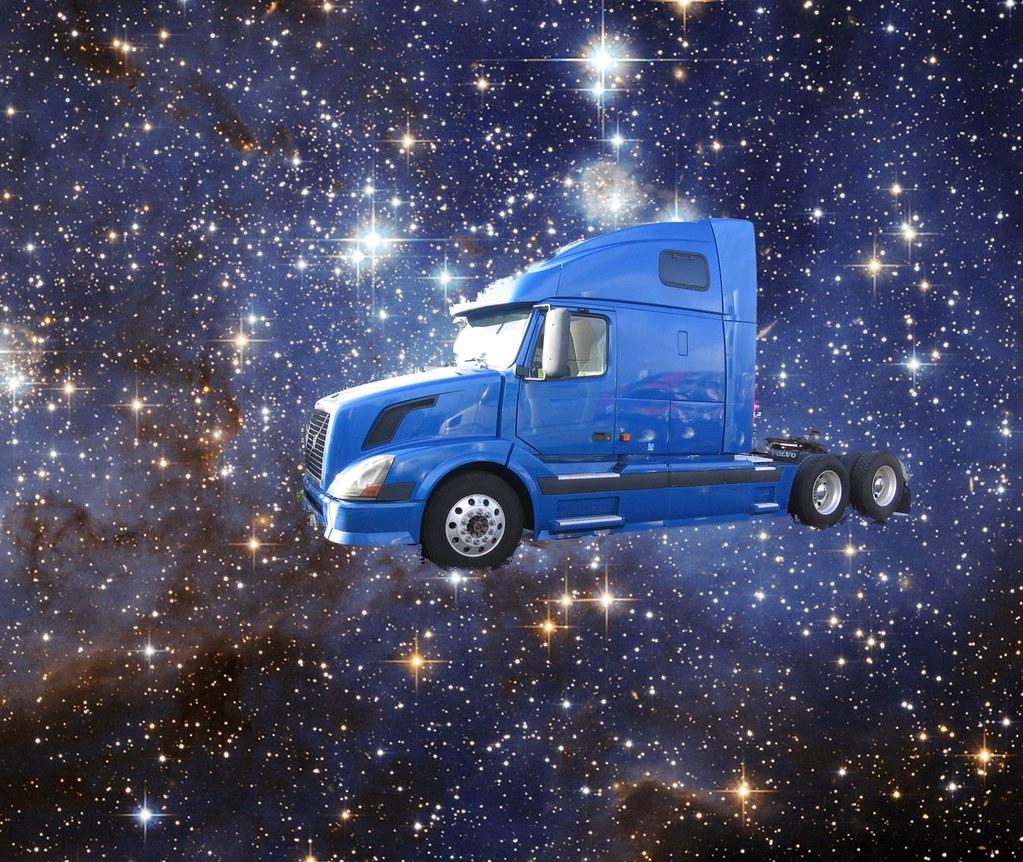 Space Truckin' Round The Stars
