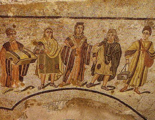Mosaico de Piazza Armerina (Sicilia) Siglos III- IV