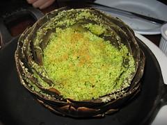 August: Stuffed artichoke - special (close up)