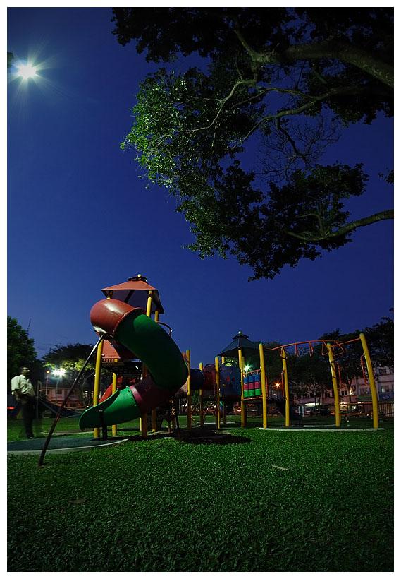 Spotlight at the Playground