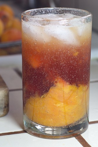 Muddled Apricot Blueberry Margarita