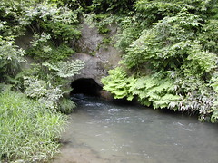 飯盛山の水路