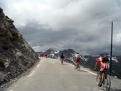 Near Top of Galibier