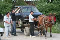 Life After Oil? (romaniashots) Tags: horse car romania cart vama towing bucovina interestingness318 i500 romaniashots calatorintrolumecaremaiexista travellerinastillexistingworld voyageurdansunmondequiexisteencore viajeroporunmundoqueanexiste