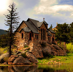 Chapel on the Rock, St. Malo, Mt. Meeker (Micha67) Tags: trees camp vacation sky mountains building st rock clouds landscape joseph michael pond colorado rocks catholic mt cross may rocky chapel landmark chruch mount micha meeker soe malo 2007 schaefer themoulinrouge allenspark blueribbonwinner littlestories nohdr bej golddragon mywinners goldmedalwinner platinumphoto anawesomeshot impressedbeauty superaplus aplusphoto bosetti visiongroup theunforgettablepictures 75faves overtheexcellence theperfectphotographer goldstaraward flickrestrellas world100f picswithsoul magicdonkeysbest thegalleryoffinephotography ubej