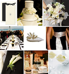 Wedding Wednesday - Black and Ecru Wedding (Tastefully Entertaining) Tags: flowers wedding party black modern weddingcake cocktail invitation entertaining ecru bridesmaiddress tabledecor ringpillow candybuffet weddingwednesday tastefullyentertaining