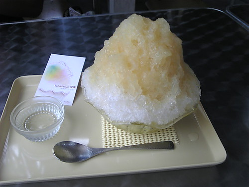 暑い夏にはかき氷!