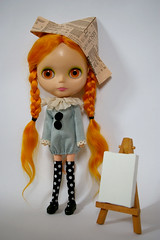pm01 (Dolly Mixture   ) Tags: orange blythe leeloo poupemchanique