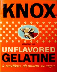 Knox Unflavored Gelatine box