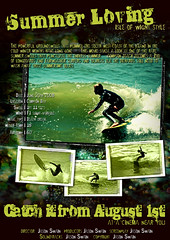 Summer Loving (Isle of Wight Style) - Surf Movie Poster (s0ulsurfing) Tags: fab color colour art beach sport illustration photoshop wow movie poster point fun island idea design graphicdesign mar cool flyer artwork surf waves colours play graphic artistic action compton surfer board creative style wave manipulation ps icon surfing movieposter creation mockup vectis isleofwight surfboard surfers layers tribute rollers reef filmposter 2008 homage groovy swell isle olas wight endlesssummer groundswell westwight beachbreak pointbreak comptonbay s0ulsurfing joetruman