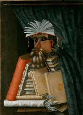 Arcimboldo's Librarian, from Wikipedia