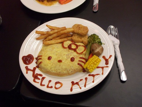 HELLO KITTY 蛋包飯