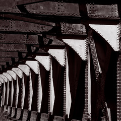 Reprise in Rust (ianmurray) Tags: bridge bristol railway basin cumberland thecut dsc2609