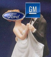 GM and Ford rumored to be collaborating.