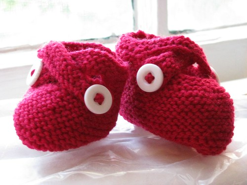 finished booties