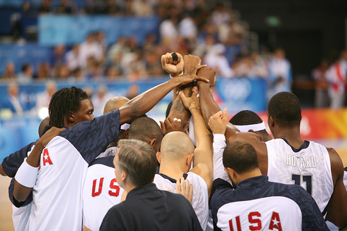 Team USA Basketball - China 2008 - flickr/kk+