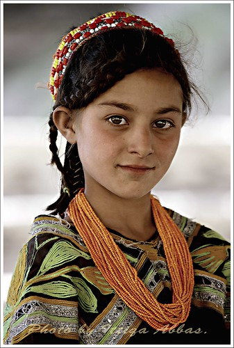 Kalash girl in Rambur