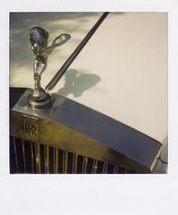 Pola_Rolls (Vassilis Makris) Tags: car sx70 flickr rollsroyce getty claude rolls phantom gettyimages spiritofecstasy savepolaroid claudejohnson gettyimagesandtheflickrcollection