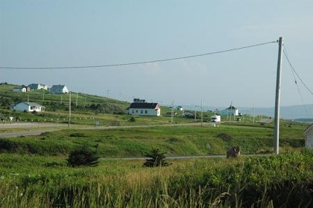 scenery down the western side of Cape Breton