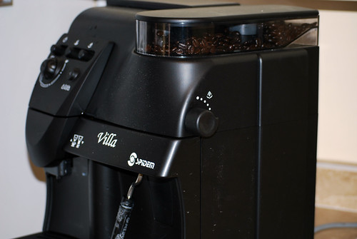 side view of Espresso Machine
