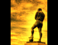 Legend (Martyn Starkey) Tags: england sculpture statue football hero wembly footballer westham themoulinrouge bobbymoore mywinners anawesomeshot