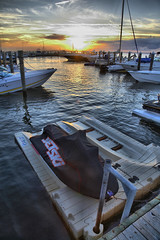 The Fire Island Life (rahm0277) Tags: sunset newyork black ski boats boat jet hdr fireisland hdrsunset