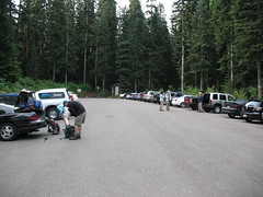 Idiots abound at the PCT trailhead.