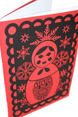 From Russia With Love - Red Notebook (teaandceremony) Tags: handmade teaceremony papergoods