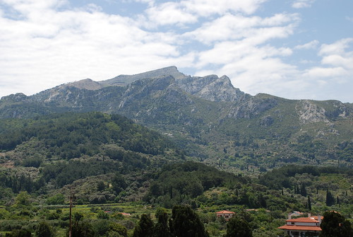 Mountains above Kokkari