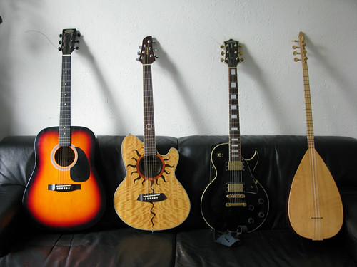 electric guitar collection acoustic turkisch