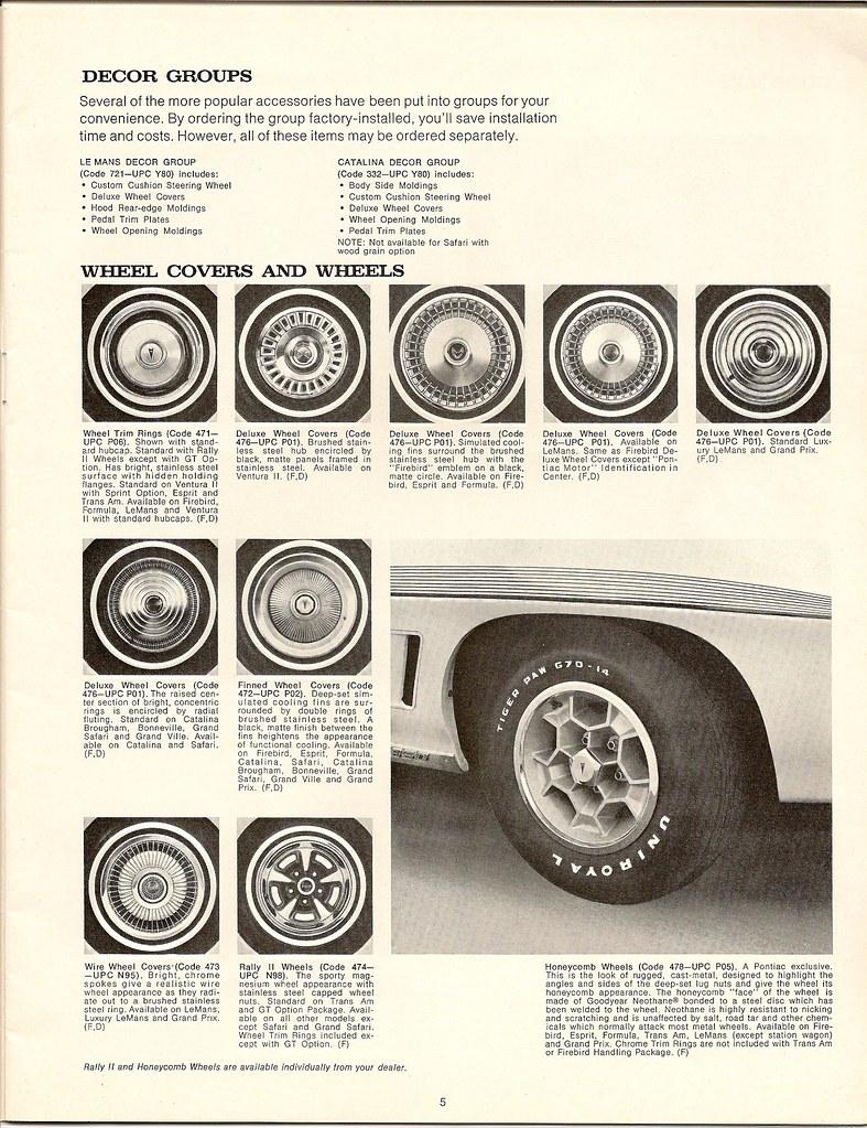 '72 Pontiac wheel covers and wheels