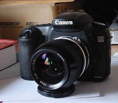 Nikkor 35mm 1:1.4 Ai + Canon Eos 20D (Skink74) Tags: canoneos20d ixus adapter ixusv nikkor35mm114ai