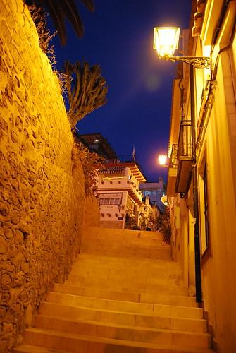 Por el Barrio de la Santa Cruz de Alicante
