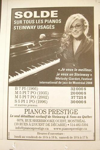 Pianos Prestige