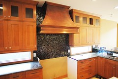 Copper and Cherry... oh, so nice! (SparlyDavidson) Tags: alberta cherrycabinets copperhood