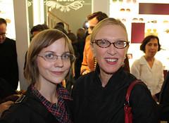 Me and Valerie Steele