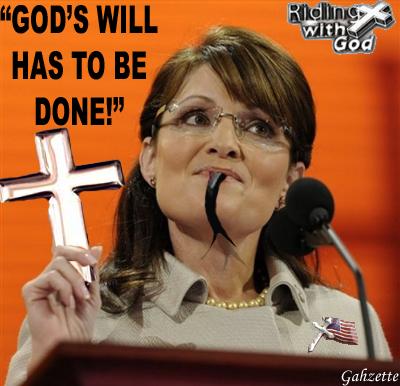 Palin's God